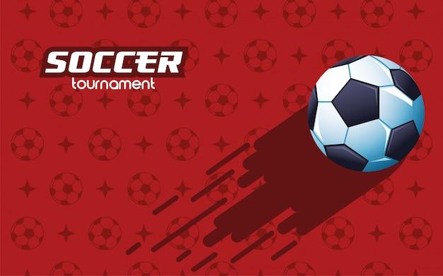 Футбол футбол спорт с воздушным шаром