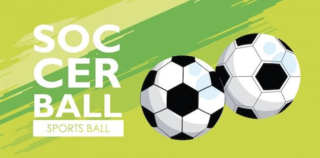 Футбольный спортивный баннер