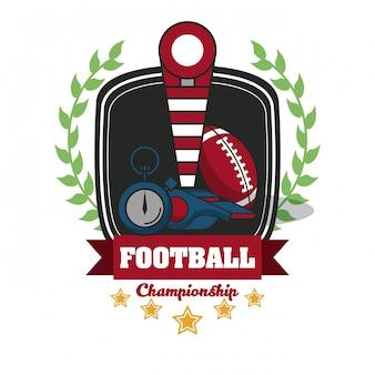Эмблема турнира по футболу