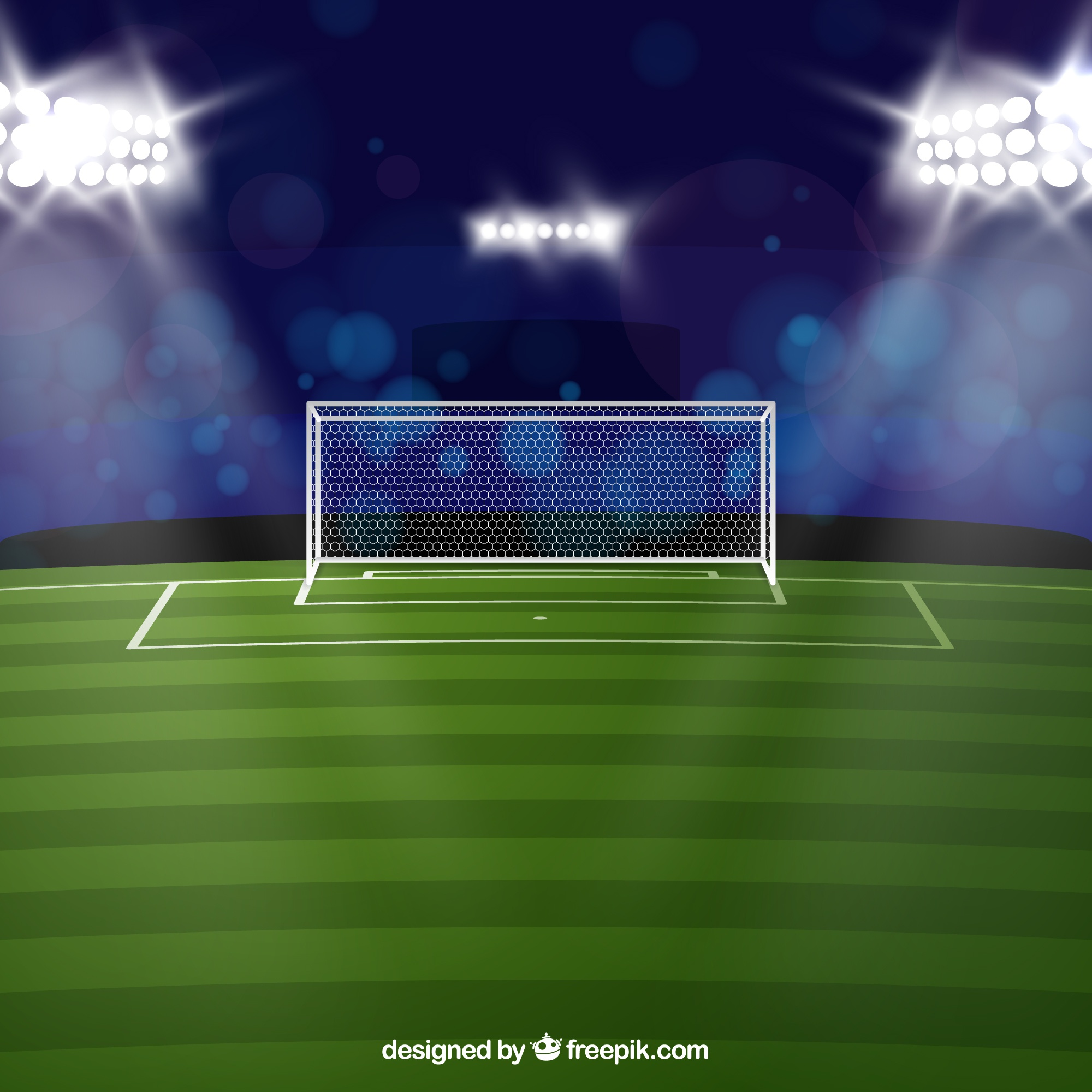 football stadium background in realistic style vector free vector graphics free vector graphics