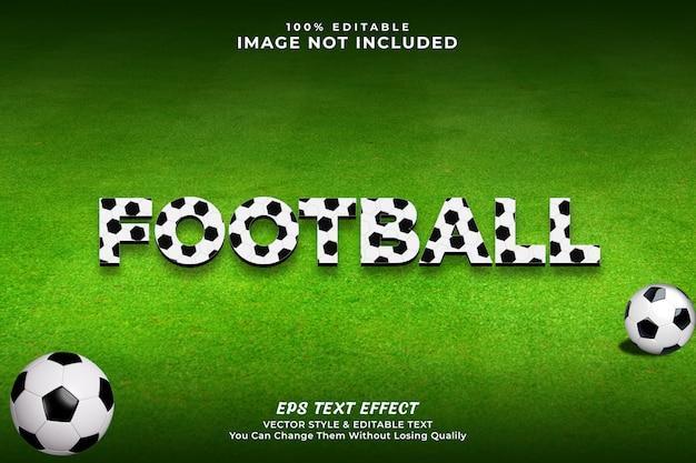 Football text effect