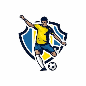 Football vector icon illustration