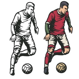 Футболист мяч мяч
