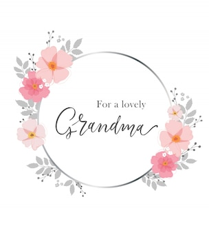 Для прекрасной бабушки. открытка для бабушки.