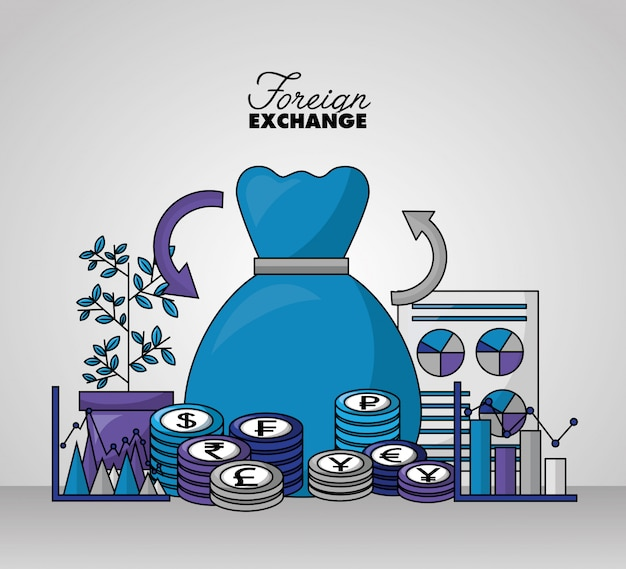 Foreign exchange background