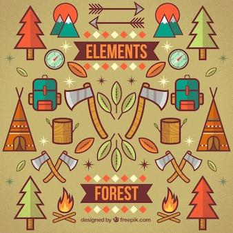 Лесные элементы