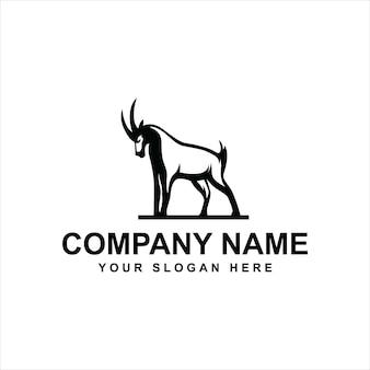 Логотип лесной козел