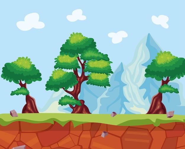숲 풍경 장면