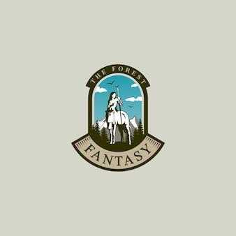 Forest logo design