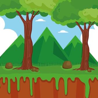 숲 자연 현장