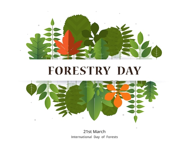 Forestry day 21st march banner