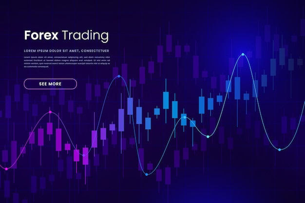 Forex trading background