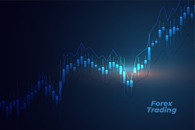 Forex trading with candle stick chart
