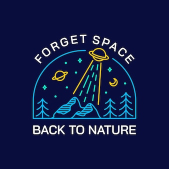 Forget space, back to nature