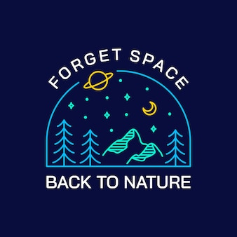 Забудьте о космосе, вернитесь к природе