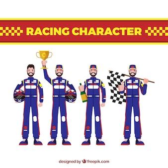 Коллекция персонажей формулы 1