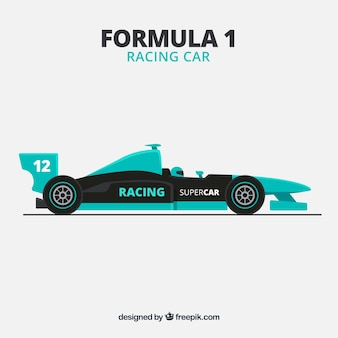 Гоночный автомобиль формулы 1