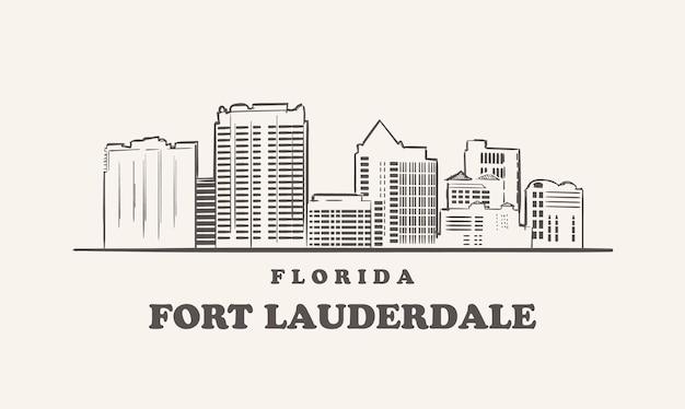 Горизонт форт-лодердейла, флорида