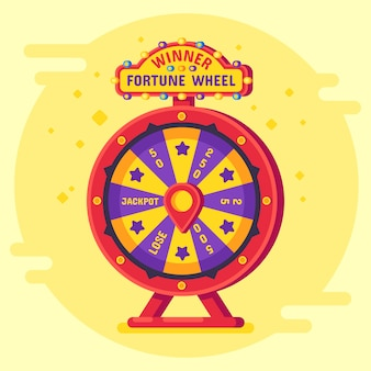 Fortune wheel winner