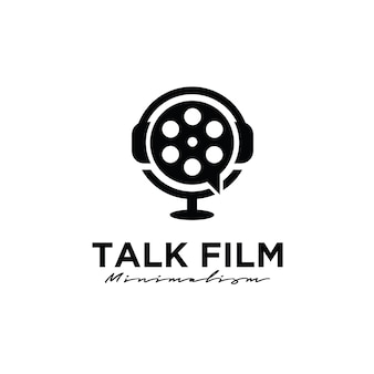 Forum cinema studio film production logo design
