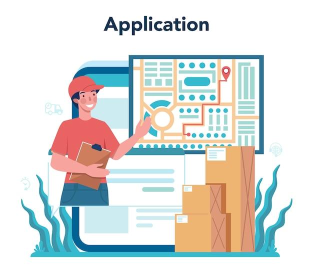 フォワーダーオンラインサービスまたはプラットフォームセット