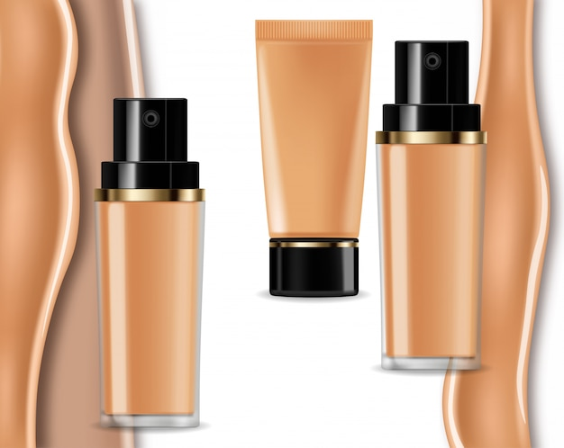 Foundation cream collection
