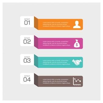 인포 그래픽을위한 4 가지 놀라운 단계