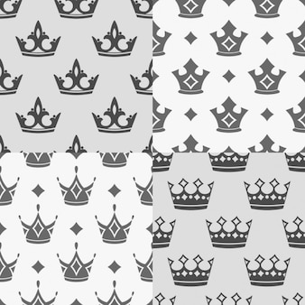 Four crowns patterns