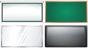 Four design of board