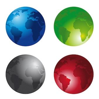 Four earths isolated