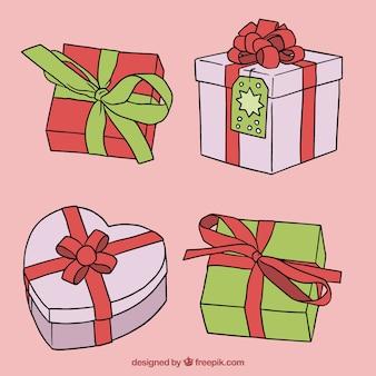 四手描きのクリスマスプレゼント