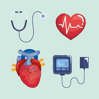 Four hypertension elements