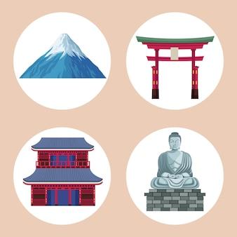 Четыре иконы японии