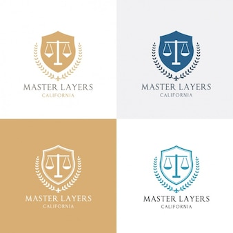 Four logo about justice