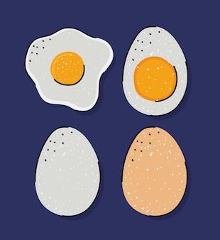 4つの素敵な卵