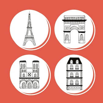 Четыре иконы страны париж