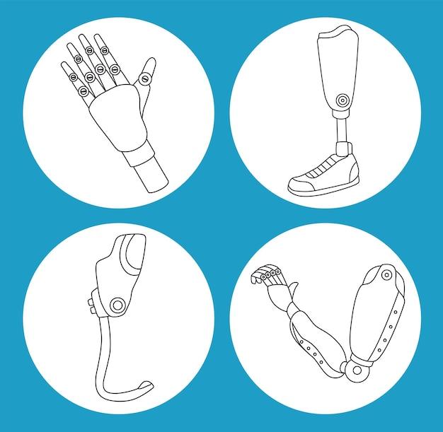 Четыре иконы протезирования имплантатов