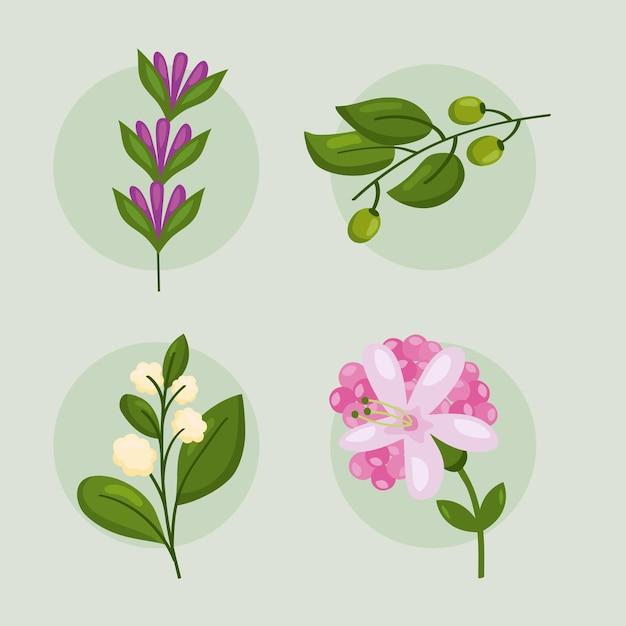 4つの春の自然の要素