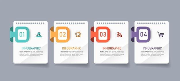 Бизнес-инфографика в четыре шага