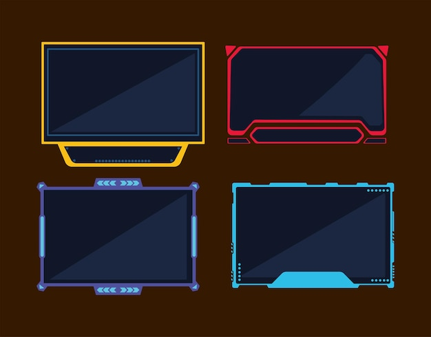 Four streaming interface templates