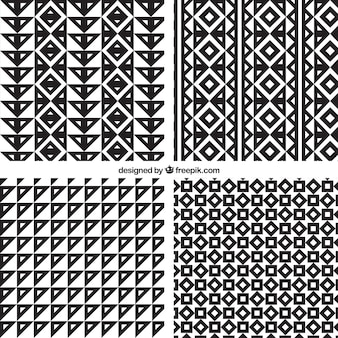 네 부족 패턴
