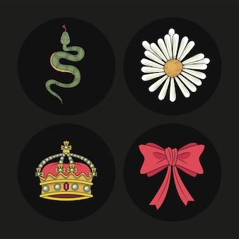 Четыре иконы дикой любви