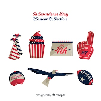 Fourth of july element collection