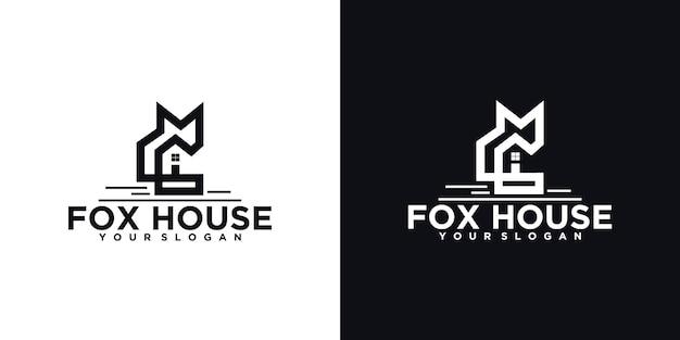 Логотип fox house, ссылка на логотип для бизнеса