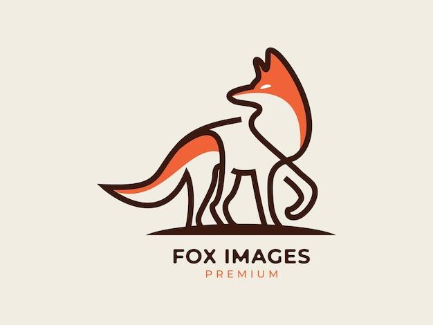 Fox images концепция дизайна логотипа