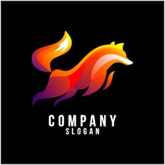 Дизайн логотипа лиса