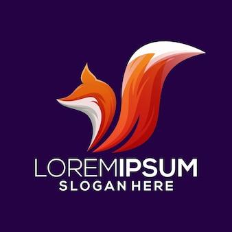 Fox logo template