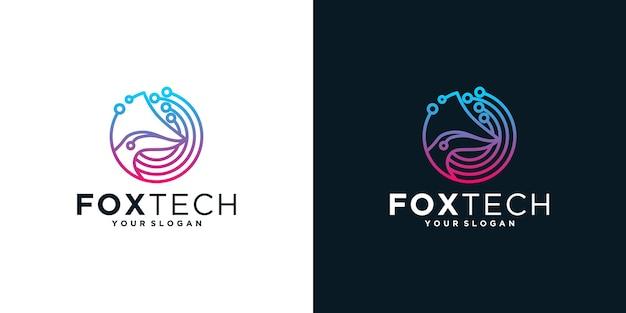 Foxtechロゴのインスピレーション
