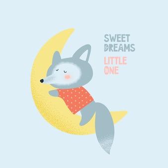 Fox wolf card