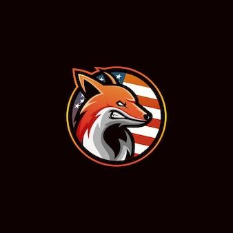 Логотип fox америка